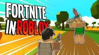 ROBLOX FORTNITE GAMEPLAY! Roblox Island Royale is Fortnite & Roblox - Roblox Fortnite Battle Royale