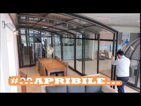 Veranda per terrazzo Aquanova - gazebi dehor apribili per bar e ...