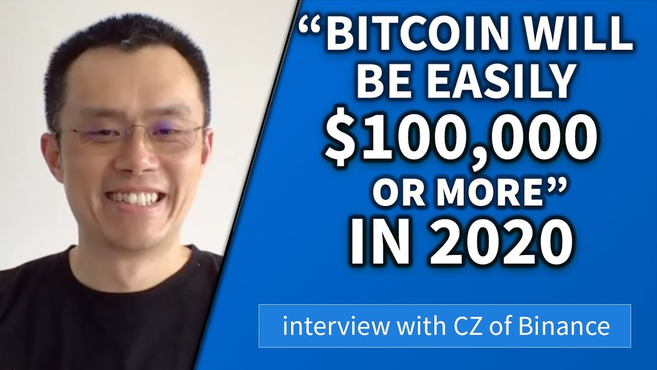 CZ Binance interview – What to expect from crypto in 2020