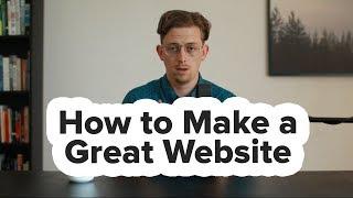 Comment Faire un Grand Site web | Ce que Ne Vous Dit