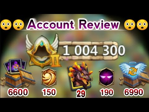 1 Million Might | Account Review | 😲😲🤑🤑 | --RF-- From FTK Decent Acc | Rank-15 | Castle Clash