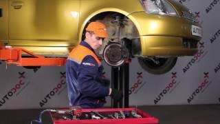 Hvordan skifter man Bremsecaliper VW EOS - vejledning