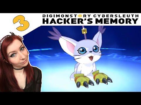 I GOT GATOMON! - Digimon Story Cyber Sleuth: Hacker's Memory Walkthrough Gameplay Part 3