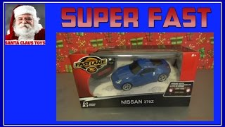 SANTA CLAUS TOYS - Remote control car Nissan toy speedway unboxing