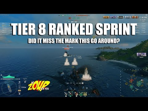 Was Ranked Sprint With Tier 8 Ships A Bad Choice?