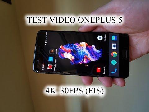 Oneplus 5 - Test Video 4K 30 Fps (EIS)