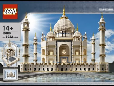 Lego 10189 Taj Mahal Youtube