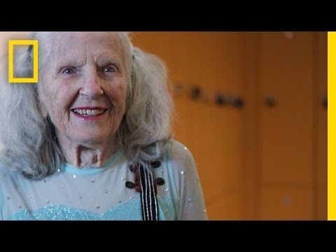 90-Year-Old Figure Skater Will Warm Your Heart with Her Amazing Talent   Short Film Showcase