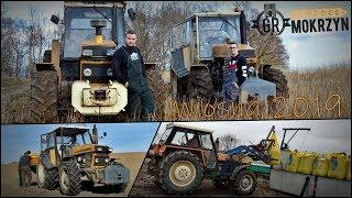 Wiosna 2019 w GR Mokrzyn ☆ Nawóz i Orka - Nowe brony, TUZ & obciążnik w URSUSIE ㋡ Vlog GoPro