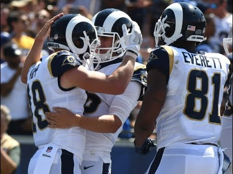 Jared Goff vs Colts (NFL Week 1) - First Win! | 2017-18 NFL Highlights HD