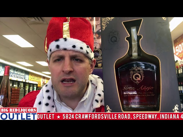 Don Q Gran Anejo Rum at the Big Red Liquors Outlet Store