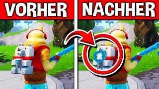 THAT happens with the new backpack at 1HP 😱 SECRET FUNCTION in Fortnite