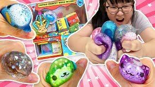 【玩具】療癒水系與粒粒軟軟,裡面是史萊姆嗎?超可愛軟軟麻吉方塊[NyoNyoTV妞妞TV玩具]