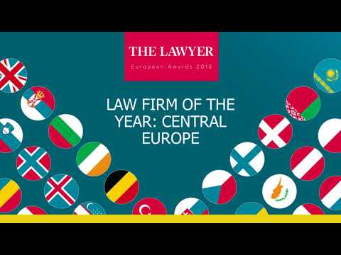 LAW FIRM OF THE YEAR , CENTRAL EUROPE 2018, THE LAWYER AWARDS