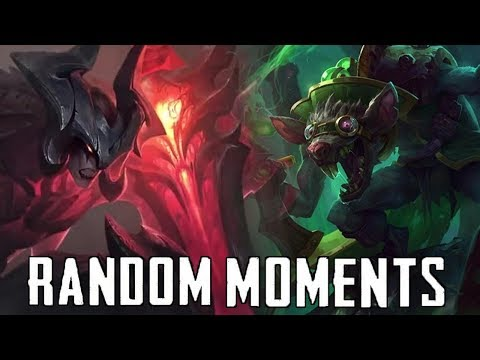 Random LoL Moments #21 | League Of Legends Mid