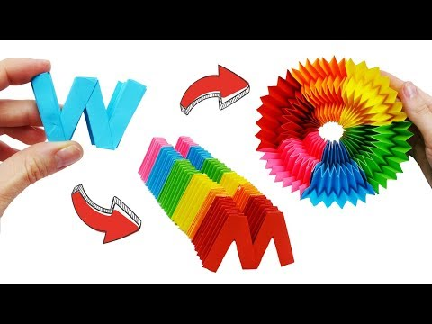 9-craft-ideas-with-paper-|-9-diy-paper-crafts-|-paper-toys-antistress