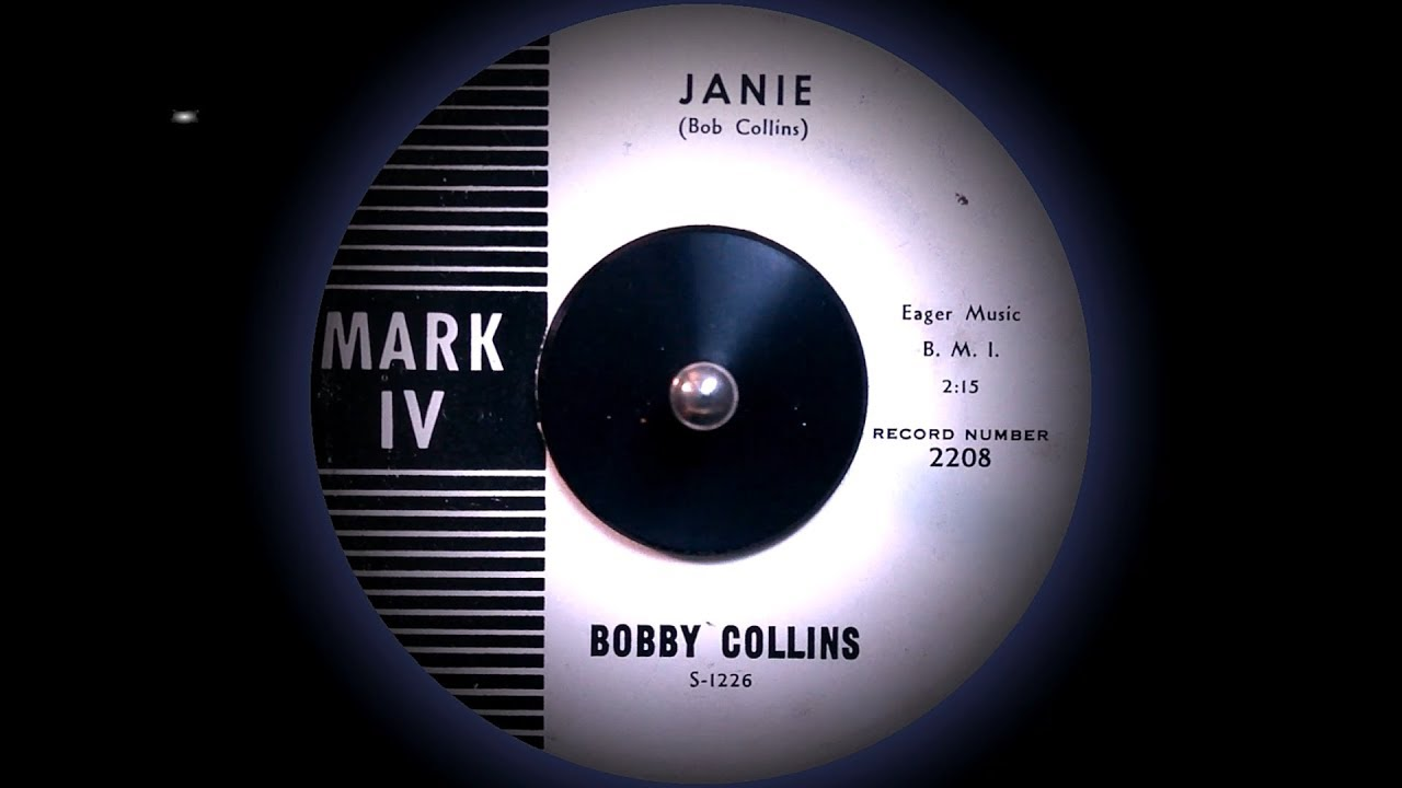 Bobby Collins Janie Better 1961 Youtube