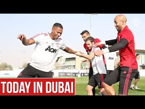 Manchester United | Dubai Training Camp | Solskjaer, Martial, Rashford, Lingard