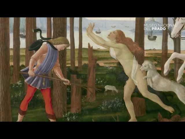 """La historia de Nastagio degli Onesti"""" de Botticelli"""