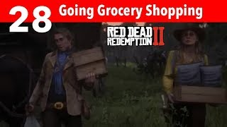 Red Dead Redemption 2 Part 28-Going Grocery Shopping