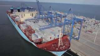 Największy statek świata w Gdańsku