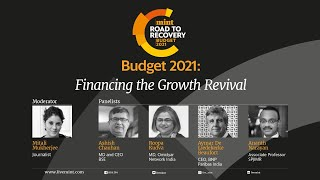 Mint Budget 2021 LIVE Panel: Financing the Growth Revival