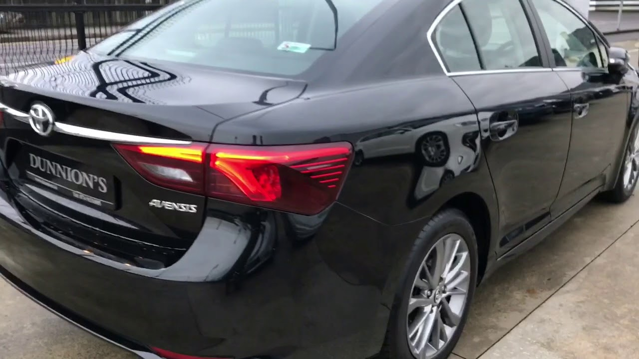 d4868bdd3dd 2017 Toyota Avensis Business Edition 2.0D4D Review - YouTube