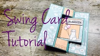 DIY Swing Card [tutorial |deutsch]
