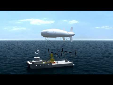 Aerostat Launch and Recovery - offshore comunications, subsea deployment, monitoring