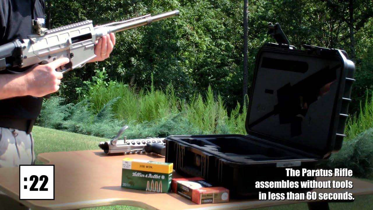 "DRD Tactical Paratus Rifle: ""Revolutionary"" 7 62mm NATO/ 308"