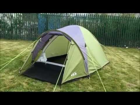 Gelert Rocky 3 Tent 2015 Youtube