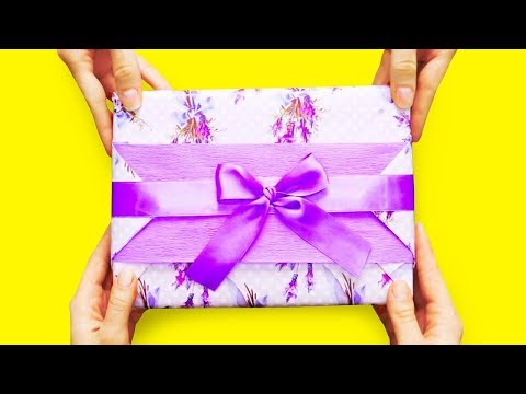 Как оригинально упаковать подарок на день рождения