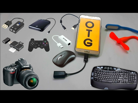 12 Uses of OTG Cable || Tech Indian