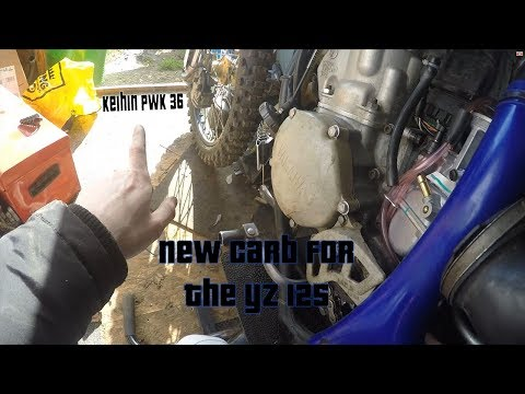 New Carb for the YZ 125! No more bog!!!