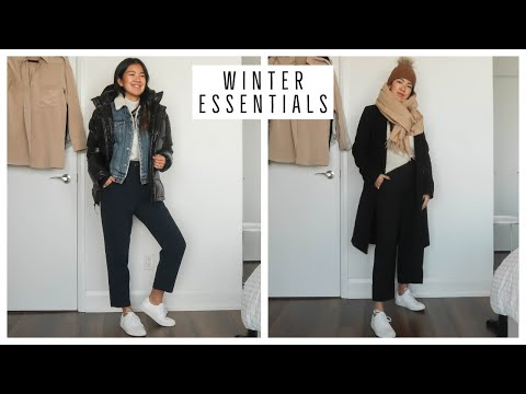 WINTER WARDROBE ESSENTIALS | CLOTHING HAUL AND TRY ON | ARITZIA