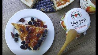 Vitalia healthy food - Здрав чизкејк со џем од јагоди (Vegetarian)