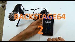 BACKSTAGE64 - Nový mikrofon