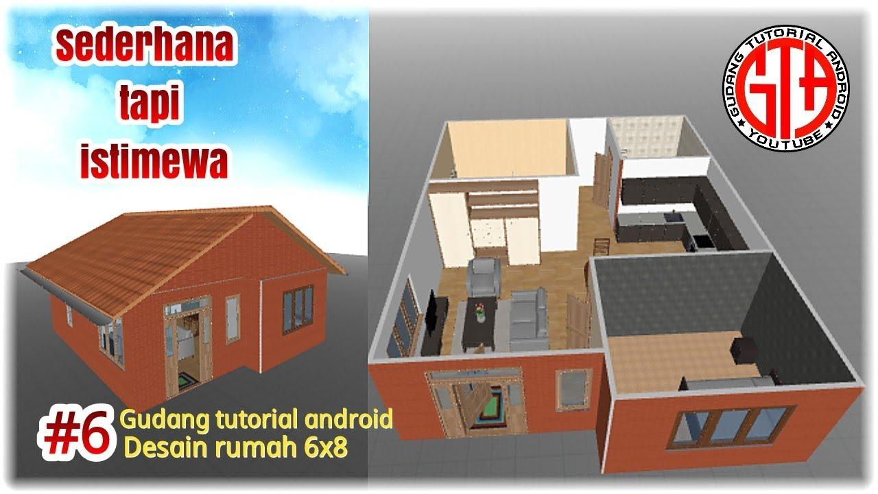 Desain Rumah Sederhana 6x8 Lengkap Dengan Furniture Lik Iwan 6