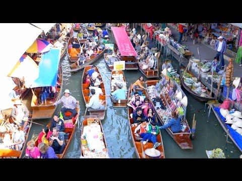 Street Food & Damnoen Saduak Floating Market Tour - Bangkok Trip