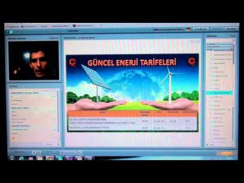 TELEKOM NET-Enerji (Elektrik) İş Sunumu ve Kazanç sistemi-24.03.2015-VİP Başkan Mustafa Pakkan