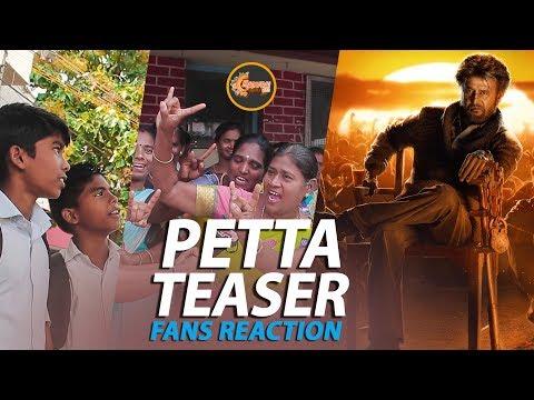 PETTA Teaser | MADURAI Fans Reaction | Madurai 360*
