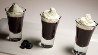 Molecular Gastronomy - Blueberry Verrines