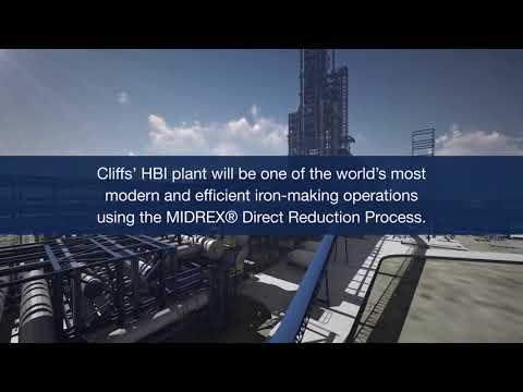 Celebrating Cleveland-Cliffs' First HBI Plant