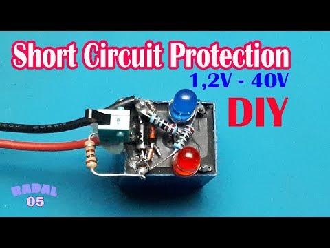Cara Membuat Short Circuit Protection Power Supplay 1,25V-40V  Ide Kreatif DIY