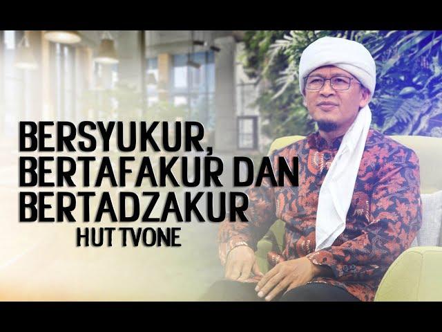 Bersyukur, Bertafakur dan Bertadzakur -  Damai Indonesiaku HUT tvOne ke 11