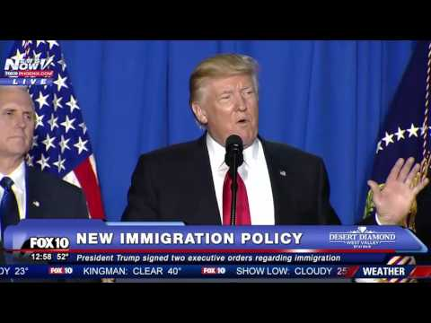 FNN: President Trump Details Why A Border Will Help The US AND Mexico