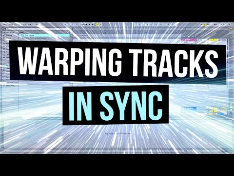 Warping Multiple Tracks At Once