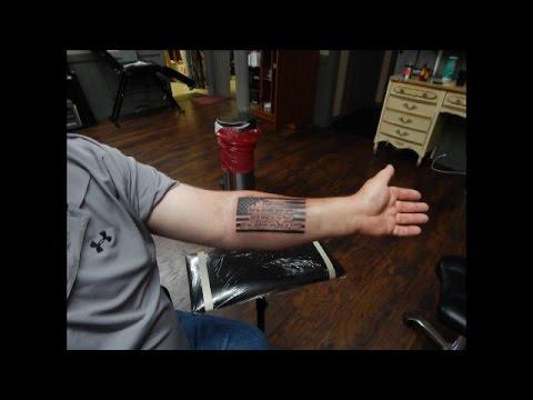 An American Flag Tattoo   Jason Asselin