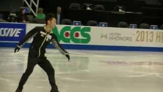 2013スケートアメリカ EX公式練習風景.