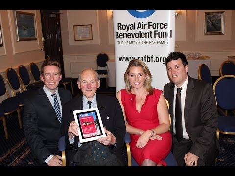 Launch of the RAF Benevolent Fund's Spitfire app